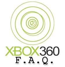 xbox 360 faq